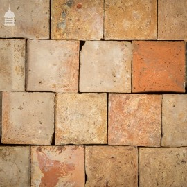 "Batch of 182 Figured Buff 8¾""x8¾"" Pamment Floor Tiles – 9.5 SqMs"