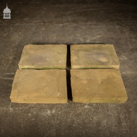 Set of 4 Sandstone Bases Plinths Pier Caps