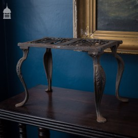Decorative Georgian Cast Iron Trivet