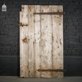 Rustic Ledged Pine Barn Door