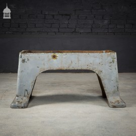 Industrial Cast Iron Machine Base