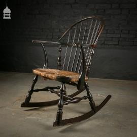 Stick Back Windsor Rocking Chair