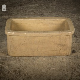 19th C Cane Trough Planter With Ceramic Fracture Marks