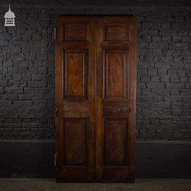 Large 19th C Mahogany 6 Panel Door