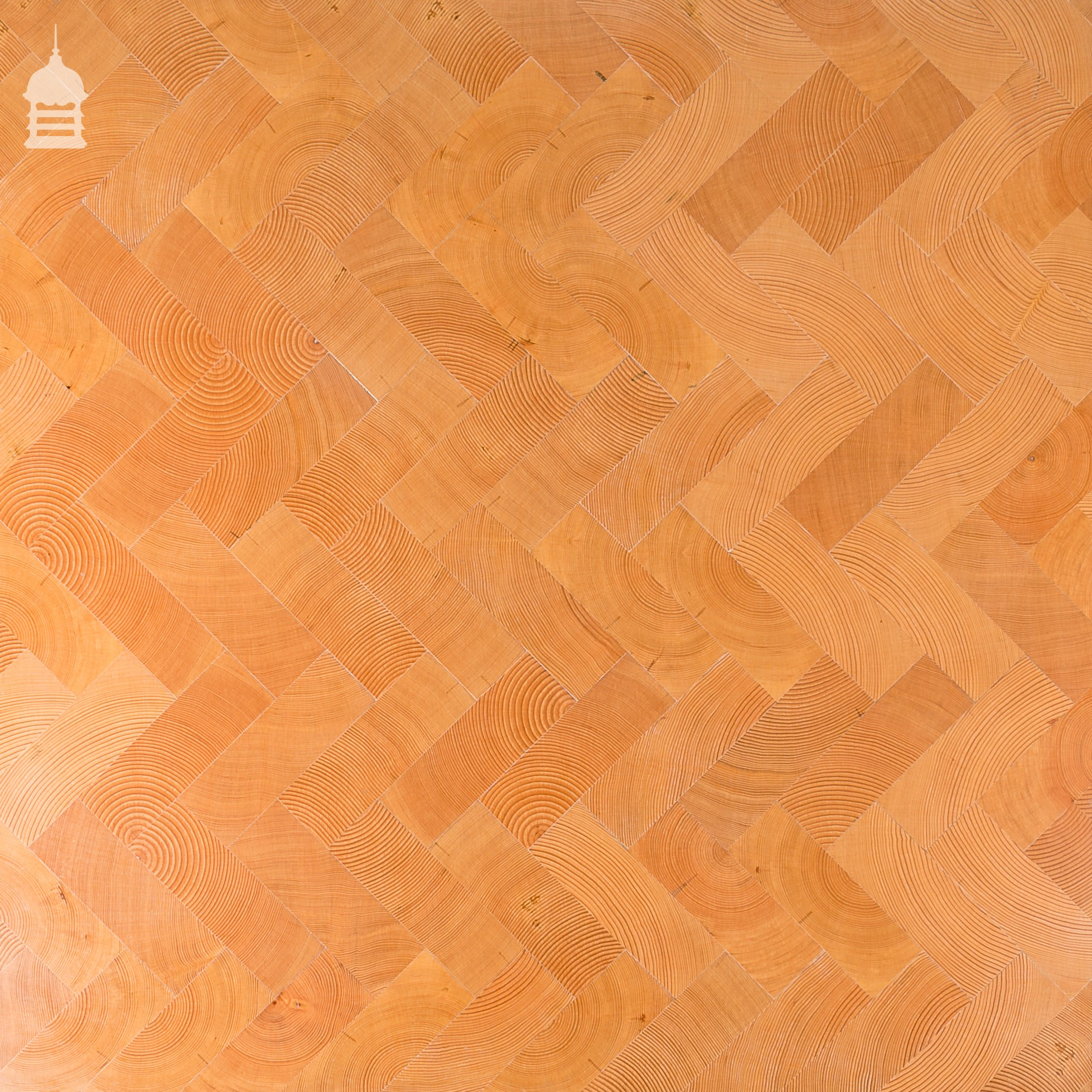 End Grain Columbian Pine Block Parquet Flooring Parquet