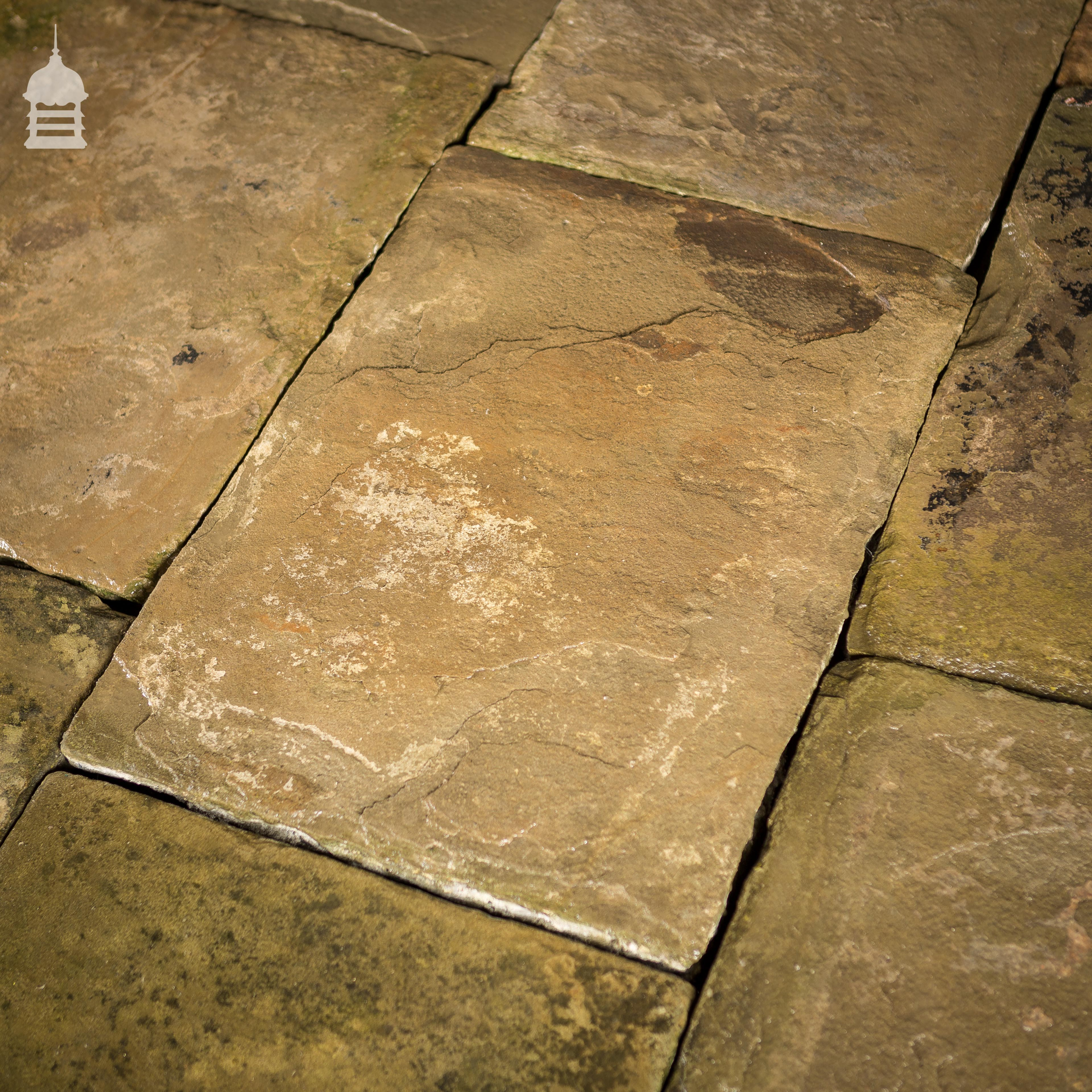 Grade A Reclaimed Period Yorkstone York Stone Flooring