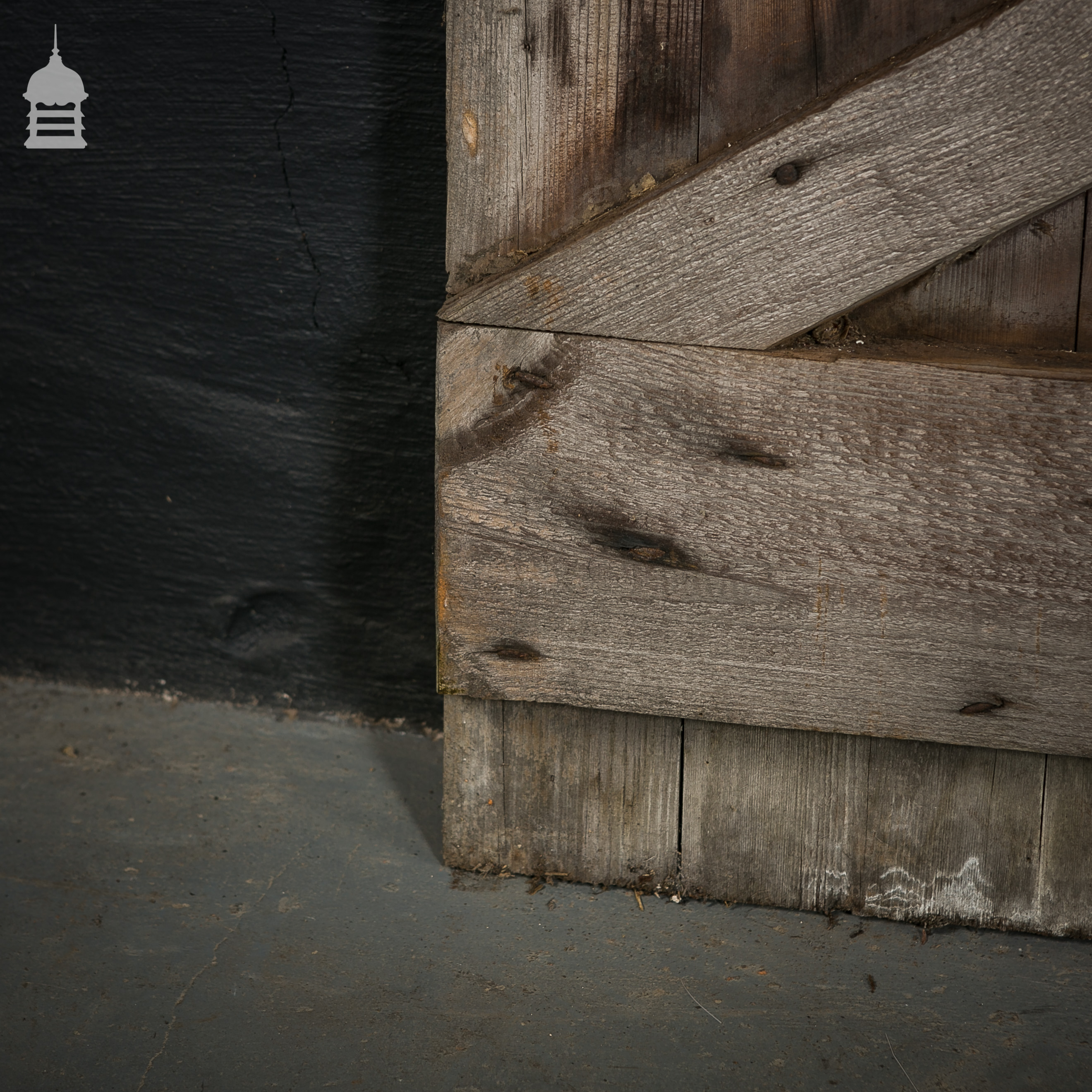 short wide pine ledged and braced barn door ebay