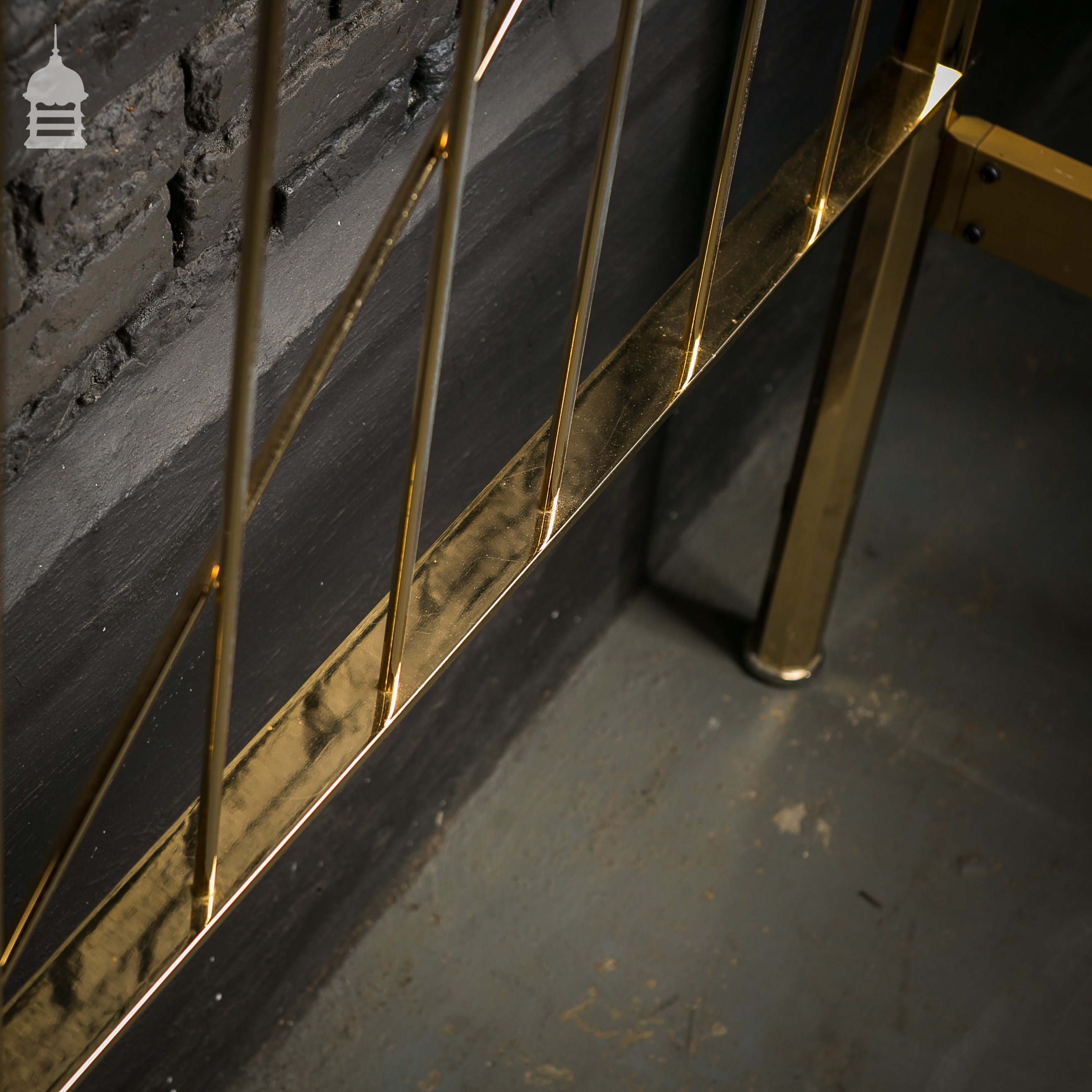 22 Carat Gold Plated Bed Frame Salvaged from a Home in Knightsbridge 3